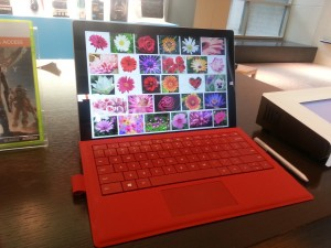 Surface Pro 3 at the Microsoft Store