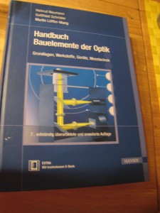 Handbuch Bauelemente der Optik by Naumann, Schröder, and Löffler-Mang