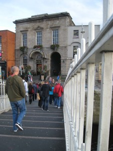 Merchant's Arch, Dublin, Ireland