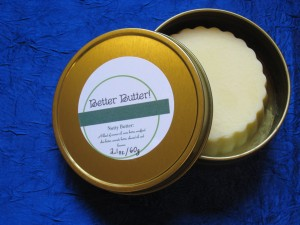 Better Butter!  Hard Lotion