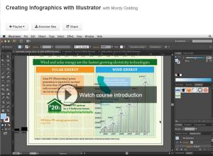 Mordy Golding's Lynda.com Infographics Course