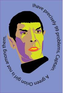 Warholesque Thug Spock