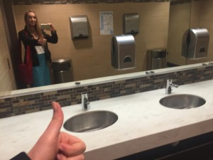New and Gorgeous Ladies Room at Kettering University AB
