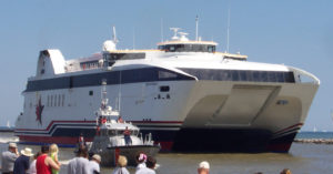 Rochester's Fail Ferry in Action – A Literal Boatload of Wasted Taxpayer $$. (Photo Credit: Ryan Tucker, CC License http://creativecommons.org/licenses/by-sa/3.0/